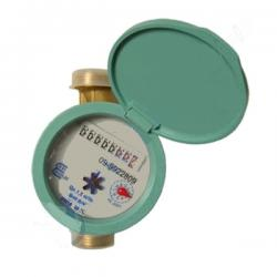 Volumetric Water Meter with 3/4 Inch Male Connections