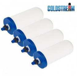 """Coldstream Sentry  2.9"""" x 8""""  4 pack Replacement Ceramic Filters"""