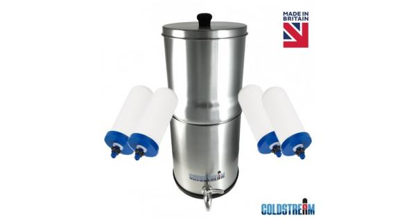 Coldstream Sentry Gravity Water Filter System Portable