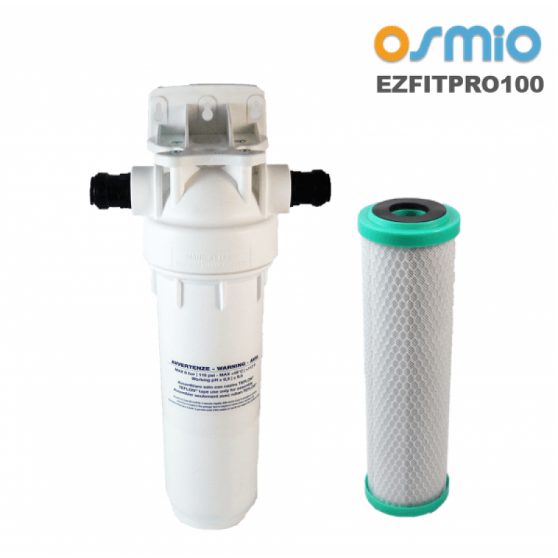Osmio ezfitpro 100 undersink water filter kit for Kit filtration