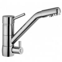 Osmio Sofia Brushed Long Reach 3 Way Triflow Kitchen Tap.