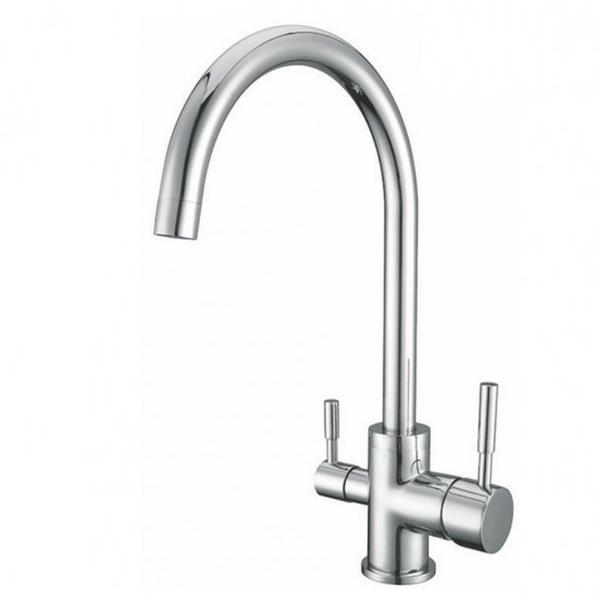 Osmio Bella Chrome 3-Way (Tri-flow) Kitchen Tap