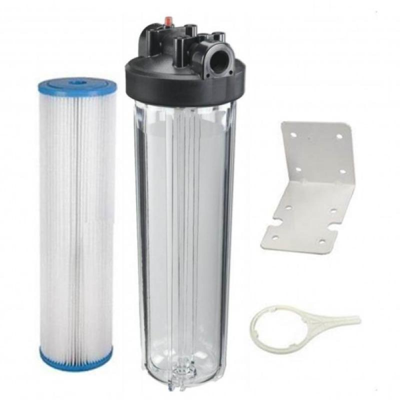 Ultraviolet Pre Filtration System 4 5 Quot X 20 Quot Clear
