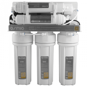 Osmio Grey Line 7 Stage Pumped Reverse Osmosis Water Filter System