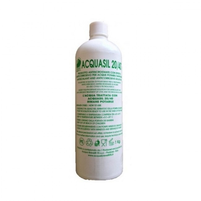 Acquasil 20/40 Liquid Water Softener Refill 1lt